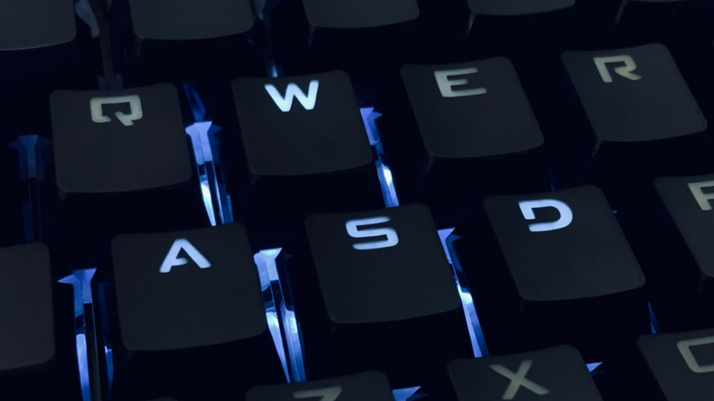 Teclado de computadora ransomware
